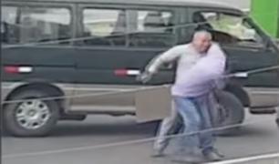 Conductores protagonizan bochornosa pelea en plena vía pública