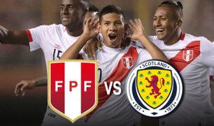 Perú vs. Escocia: conozca la alineación que presentará la Blanquirroja