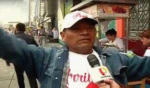 La emoción de los hinchas en las calles previo al Perú vs. Escocia