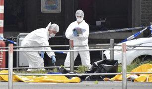 Bélgica: hombre asesina a tiros a dos policías y a un transeúnte