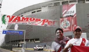 Perú vs. Escocia: desde las cuatro se abrirán las puertas del Estadio Nacional