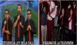 Así celebraron los vecinos de Panamericana la victoria de Perú ante Escocia