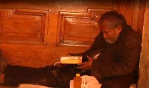 BDP y Fundación Wiese entregaron alimentos a ancianos abandonados