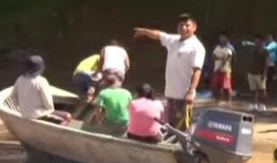 Madre de Dios: rescatan cuerpo de uno de los 4 niños desaparecidos tras un deslizamiento