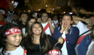 Miraflores: venezolanos también celebraron el triunfo de Perú ante Escocia