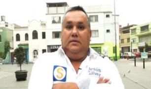 Quiero ser Alcalde: Jesús Gálvez  se presenta como candidato a Jesús María
