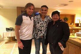 Paolo Guerrero se unió a la selección en Austria
