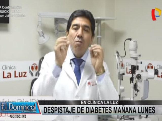 Clínica La Luz realiza campaña de despistaje de Diabetes