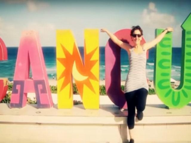 Gigi Mitre visitó Cancún y deja algunos consejos para tu viaje