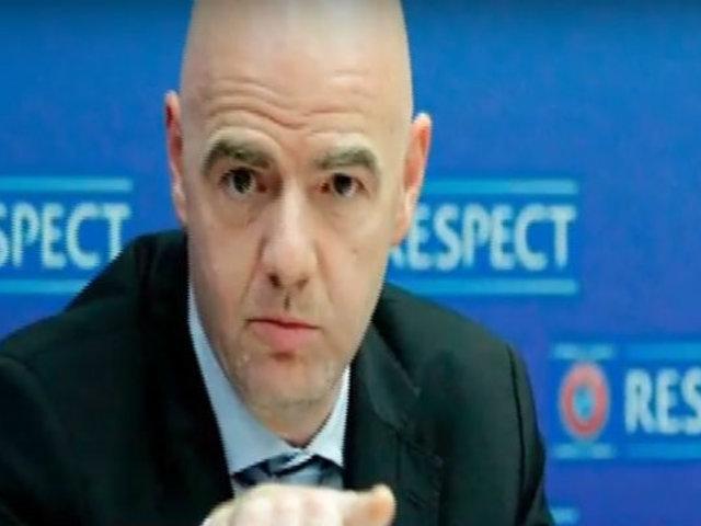 Gianni Infantino, presidente de la FIFA, en aislamiento por dar positivo al COVID-19