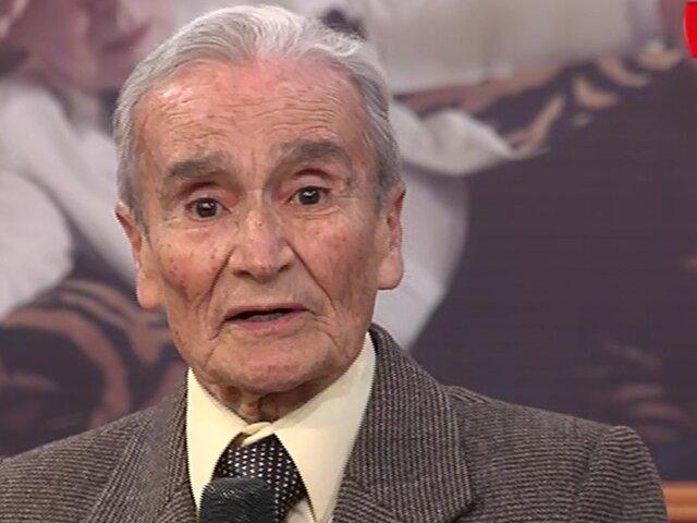 Primer actor Carlos Gassols recibe merecido homenaje en Porque Hoy es Sábado con Andrés