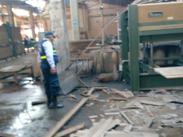 Ate: explosión en fábrica deja un muerto y 2 obreros mutilados