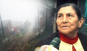 """Villa María del Triunfo: """"Ticlio Chico"""" vive entre el intenso frío y la pobreza"""