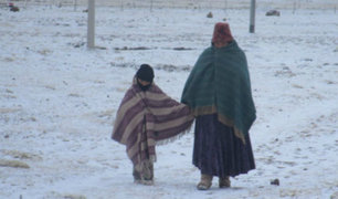 Anuncian lluvias y nevadas en zonas altas de la sierra centro y sur desde mañana