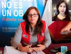 Ministra Mendieta pide máxima sanción para asesino de Eyvi Ágreda