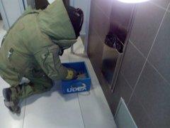 Arequipa: hallan granada de guerra sin precinto de seguridad en baño de aeropuerto
