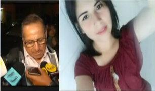 Padre de Eyvi Ágreda pide cadena perpetua para el asesino de su hija