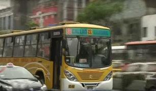 Línea 50 vuelve a la Av. Abancay por decisión de jueza de Matucana