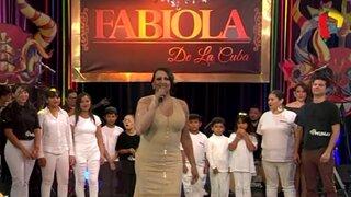 Fabiola de la Cuba deslumbra al público con espectáculo junto a estudiantes de 'Munay'