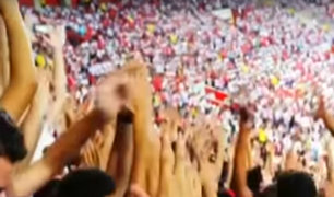Perú vs Francia: Hinchada Blanquirroja volvió a ser local en Ekaterimburgo [VIDEO]