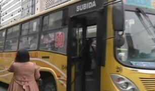 Jueza ordena que bus de transporte público transite por vía exclusiva del corredor morado