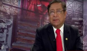Presidente del CNM anuncia indagación a la ONPE