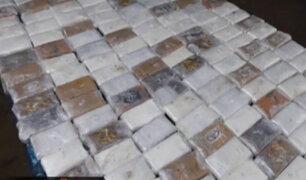 Organización criminal trasladaba droga camuflada en cajas de merluza