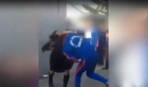 Chincha: escolares se agarran a golpes a la salida de su colegio