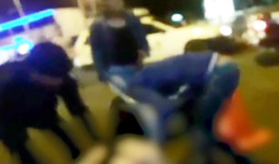 Trujillo : vigilantes sacan cadáver de discoteca y lo dejan en vereda