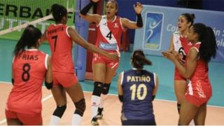 Juegos Suramericanos: selección peruana de vóley cayó 3 - 0 ante Colombia