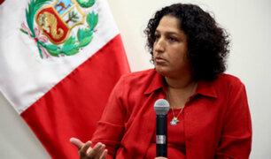 Ministra del Ambiente anuncia ley para reducir el consumo de plásticos
