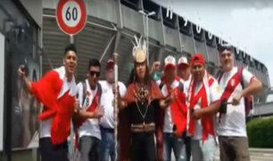 Mira la jarana que armaron los compatriotas asistentes al Perú vs. Arabia