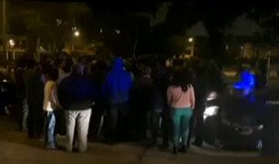 SMP: vecinos casi linchan a sujeto por robar a joven universitario