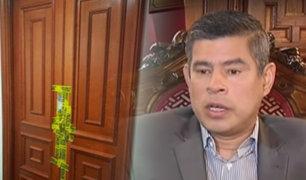 Presidente del Congreso se pronuncia por denuncia de Kenji Fujimori
