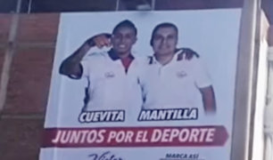 Trujillo: denuncian a candidato por usar imagen de Cristian Cueva sin su consentimiento