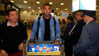 Sergio Peña llegó a Lima tras ser retirado de la selección bicolor