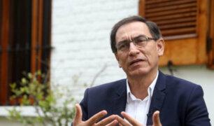 Presidente Vizcarra anuncia que entre hoy y mañana designará a nuevo ministro de Economía