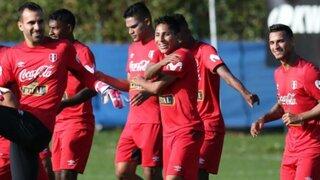 Selección peruana realizó su primer entrenamiento en Ekaterimburgo