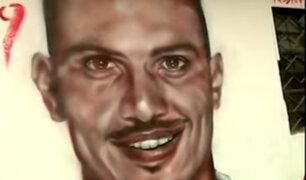 Paolo Guerrero: artistas inmortalizan su imagen en paredes y fachadas