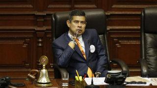 Congresista Lescano presenta moción de censura contra Luis Galarreta