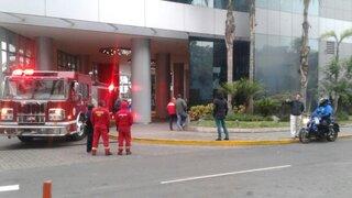 Reportan amago incendio en el sótano del Hotel Marriott