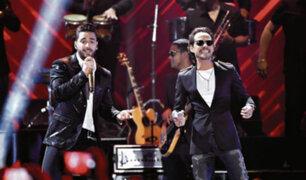 Maluma y Marc Anthony estarán juntos en concierto en Lima