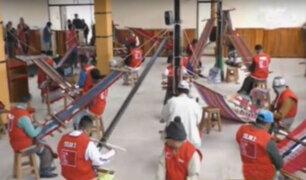 Cusco: ministro Heresi inauguró talleres en penal de varones