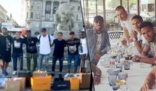 Suiza: jugadores de la Bicolor aprovecharon día de descanso para ir de compras