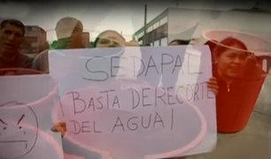 Más de 5 mil familias continúan sin agua potable en el Callao