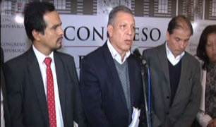 Congresistas denuncian infracción constitucional de Fuerza Popular en suspensión a Fujimori