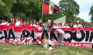 Hinchas peruanos en Suecia se preparan para recibir y alentar a la selección