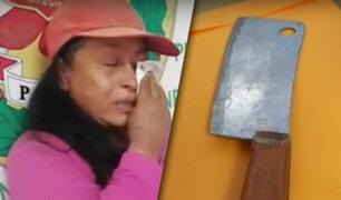 Zárate: mujer denuncia que fue atacada a machetazos por su pareja