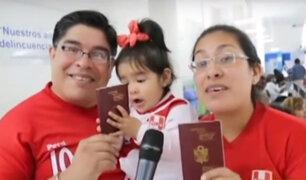Migraciones: cerca de 50 mil peruanos viajarán al Mundial de Rusia
