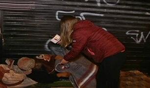 BDP brinda ayuda a personas que viven abandonadas en las calles